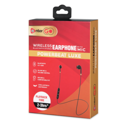 Enter Go Wireless Stereo Bluetooth Earphone With Mic Power Beat Luxe At Rs 699 Piece Brahmpuri Jaipur Jaipur Id 20469974730