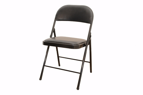81f50dd22 Mild Steel Green   Black Folding Chair