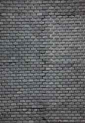 Black Slate Brick Mosaic