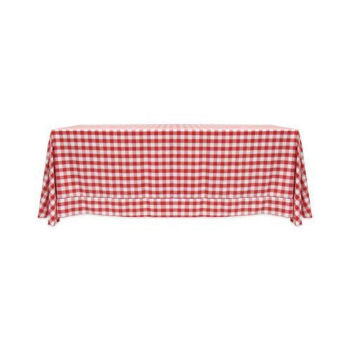 Red And White Red Checkered Tablecloth Rs 15 Number Complete