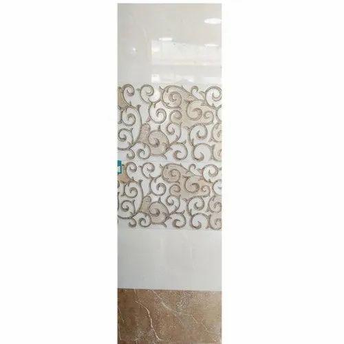 Gloss Kajaria Decorative Ceramic Wall Tile, Thickness: 5-10 mm