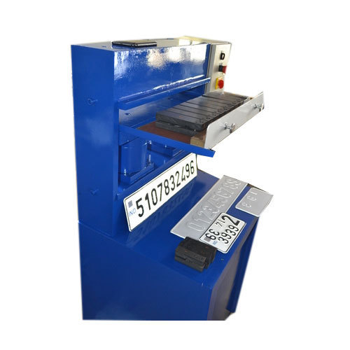 EMB01 Sheet Metal Number Plate Embossing Machine, 220, For ...