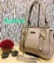 Charles And Keith Apricot Handbag