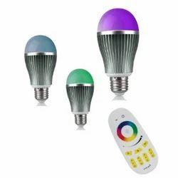ENRG LED Latest Design Bulb Prism- Fully Remote Controlled with 256 Colours -Set of 3 pcs Prism Bulb