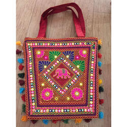 Embroidered Gujarati Handicraft Bag