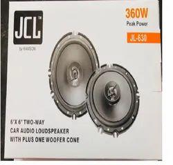 JCL Two Way Car Audio Loud speaker