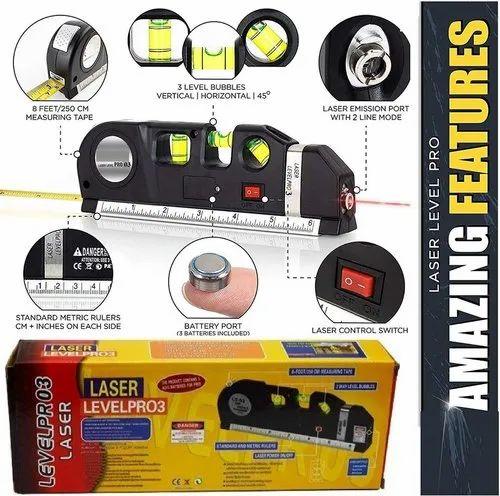 Multi Line Laser Levels Leveler Instrument