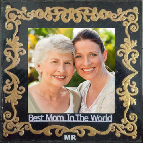 Myrever Best Mom Frame Rs 100 Piece My Rever Gifts Id 18771180230