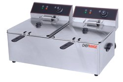 Double Electric Deep Fryer 11 Ltrs