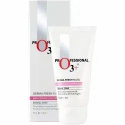 O3 Derma Fresh Mask for Brightening & Whitening Skin, 50g