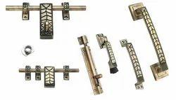 Brass Polished Door Kit