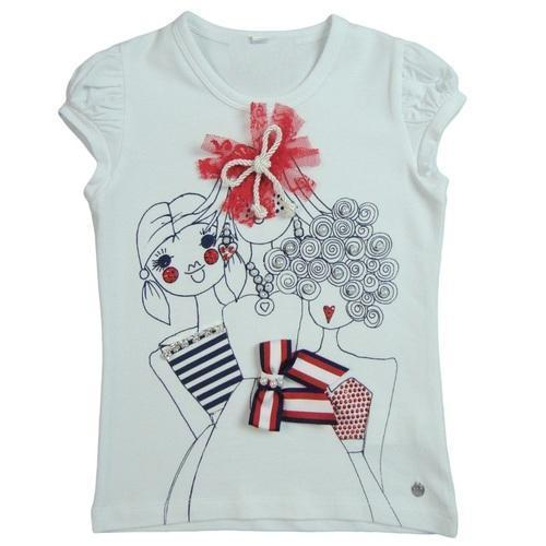 Cotton Round Ladies T Shirt