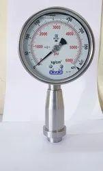 Homogeniser Pressure Gauges