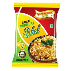 Sarvadnya Foods Garlic Murmura Bhel Namkeen