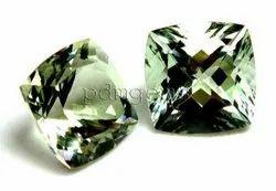 Green Amethyst Gemstone For Earrings