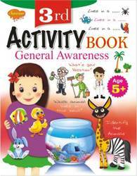 3rd Activity General Awareness Book (Age 5 )