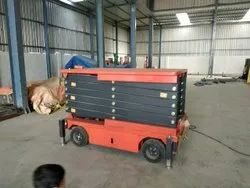 Driving Wheel Scissor Lifting Machine