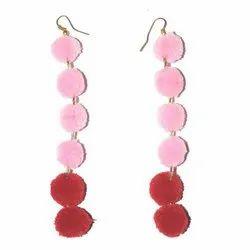 Pink and Red Designer Tassels
