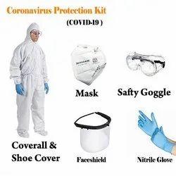 PPE Kit Non Woven Shoe Cover -A