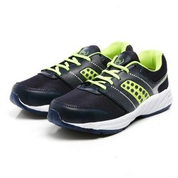 Mens Blue Green Synthetic Walking Shoes