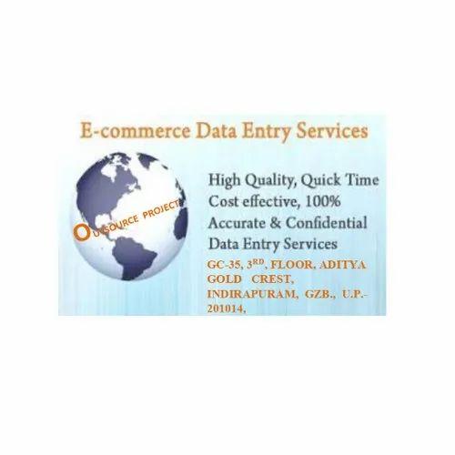 E Commerce Data Entry Service