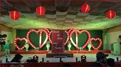 Light Decoration in Wedding Stage