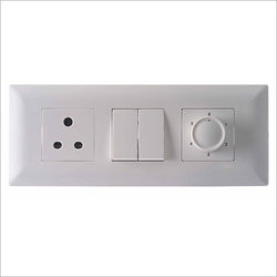 White Modular Switches