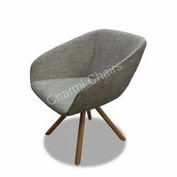 Wooden Leg Lounge Chair