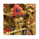 Brass Krishna Ji Murti