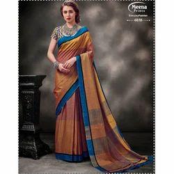 6038 Ladies Designer Cotton Saree