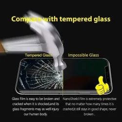 Screen guard White Impossible Glass, Thickness: 0.3 Mm