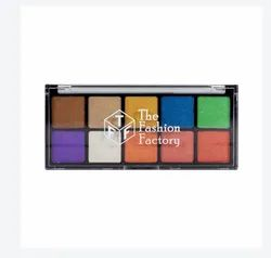 TFF Shine Color Master 10 Color Eyeshadow, Packaging: Box