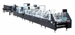 Fully Automatic High Speed 4/6 Corner Folder and Gluer Machine