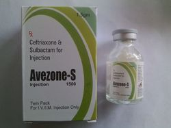 Ceftriaxone 1000 Sulbactam 500mg Injection