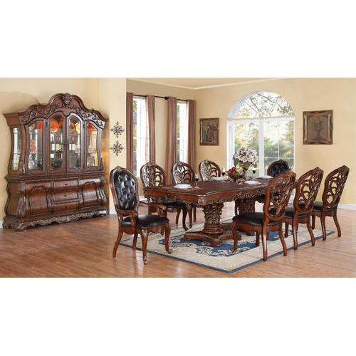 96b2527bcb4 8 Seater Dining Table Set at Rs 135000  set