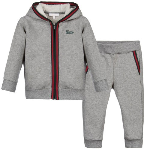43a5fa1a72d Grey Cotton Kids Tracksuit, Rs 345 /set, Lakhiya Hosiery | ID ...