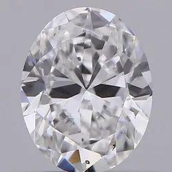 Oval Cut 0.5ctct Diamond CVD E VS1 Lab Grown Type2A