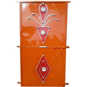 Rectangular Color Coated Hinged Iron Door For Residential And Commercial