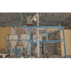 Semi-Automatic Cattle Feed Plant