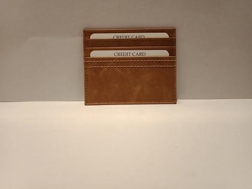 Mon Exports Credit Card Holder(Brown)