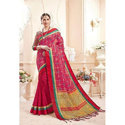 Traditional Designer Saree, 5.5 M (separate Blouse Piece)