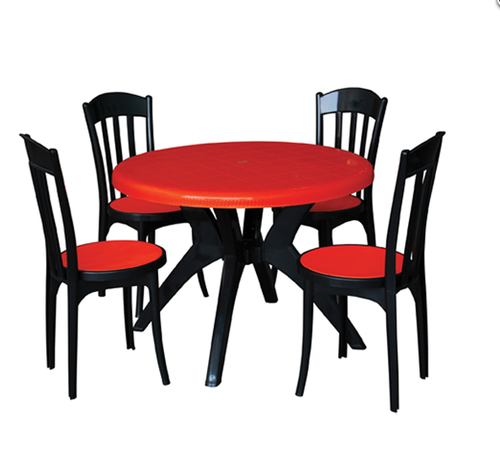1c54fe0e99 Plastic Dining Table With Chair - Stylise Chairs & Table Exporter from  Kolkata