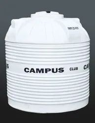 campus White Triple Layer Club water tank, Storage Capacity: 750 Ltr & 1000 Ltr