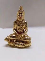 Golden Hanuman Statue