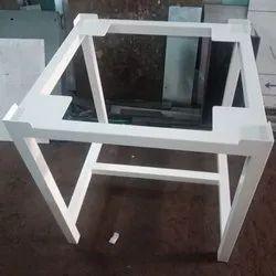 White Mild Steel MS Medical Table Frame