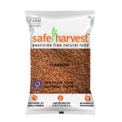 Natural Safe Harvest Flax Seed, Packaging Type: Packet, Packaging Size: 200gm
