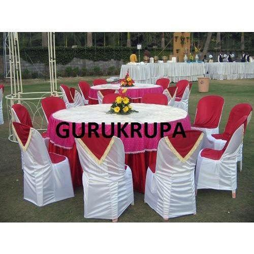 Whitre Red Spandex Plastic Chair Covers Rs 108 Piece