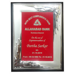 Metal Frame (VDL 10) for 5X7,6X8,8X10 Plaque