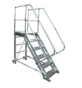 Aluminium Wheeled Ladder