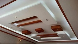 POP False Ceiling, Thickness: 8 Mm
